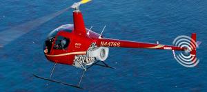 מסוק רובינזון 22 לשיעור טיסה במסוק